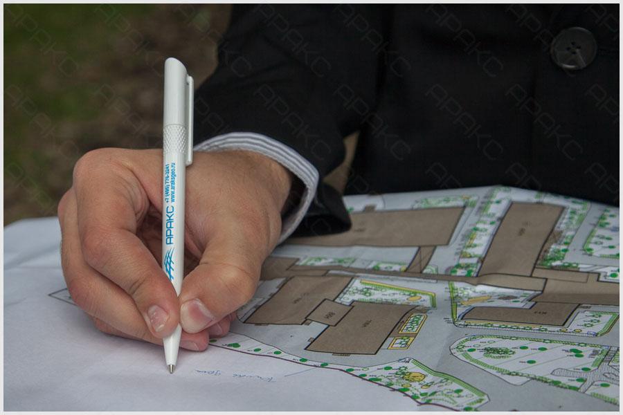 Обследование дворовой территории