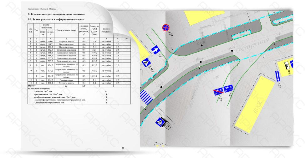 Паспорт объекта дорожного хозяйства состоит из текстовой и графической части